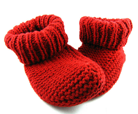 Бабушкины простые носки